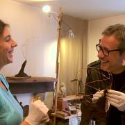 Au p'tit bonheur la France (3) Ep2 - Sujet 3 - Sculptrice de bouse
