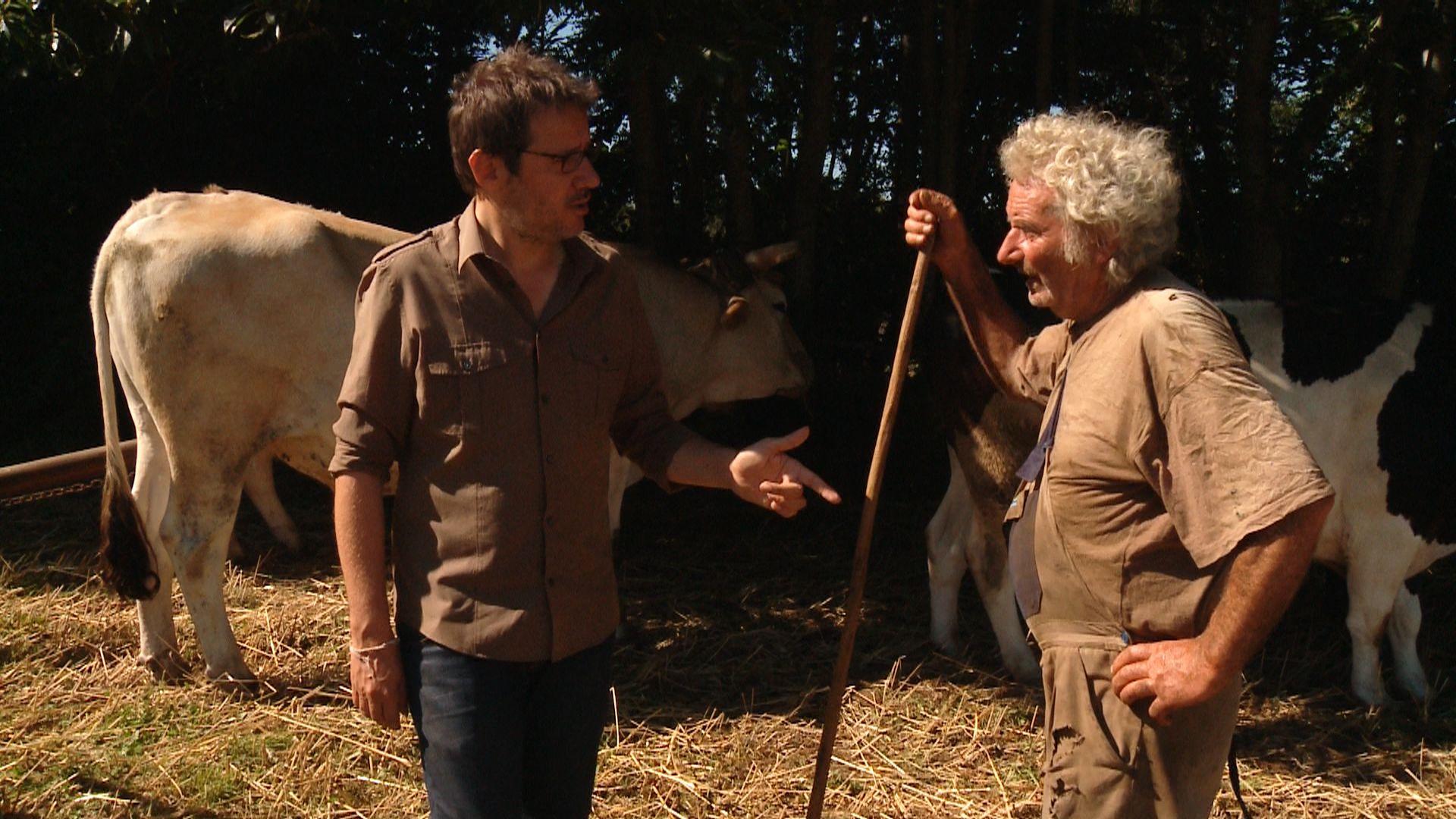 (Français) Au P'tit Bonheur la France (2) Ep1 – Sujet 1 – Un paysan sans tracteur