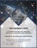 "Jackson Hole Science Media Award for 'The origami code"""
