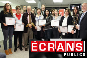 """Écrans Publics Award"" for Freightened"