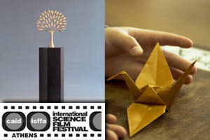 """Art"" award at ISFFA for 'The origami code"""