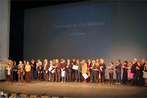 Lauréat Télévision du Prix Roberval pour 'Un monde en plis, le code origami'