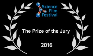 Prize of the jury in Science Film Festival for 'The origami code'