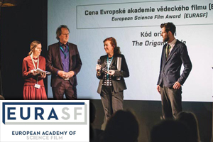 "EURASF Prize awarded ""THE ORIGAMI CODE"""