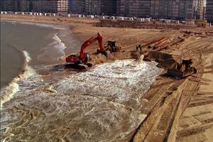 Diffusion web «Le sable, enquête sur une disparition»